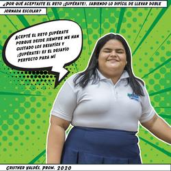 Cristher Valdés, Prom. 2020