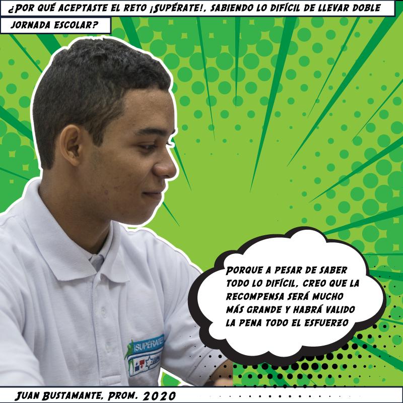 Juan Bustamante, Prom. 2020
