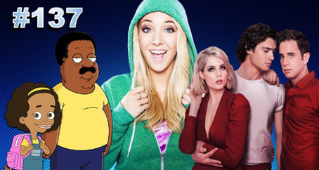 Ep. 137 Jenna Marbles Quits | White Actors Voicing Black Characters | Throuples