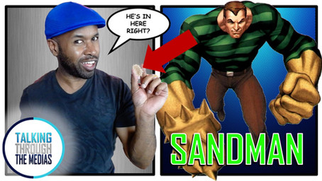 Does Spider-Man frienemy Sandman have a brain inside of one grain of sand?