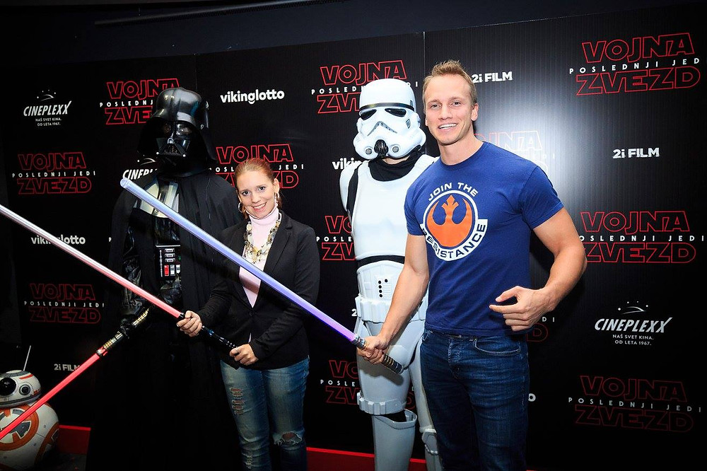 Slovenian actor Andrei Lenart Star Wars