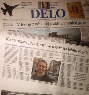 Interview in Delo