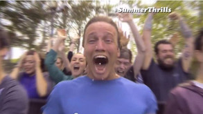 Featured role in Thorpe Park advert