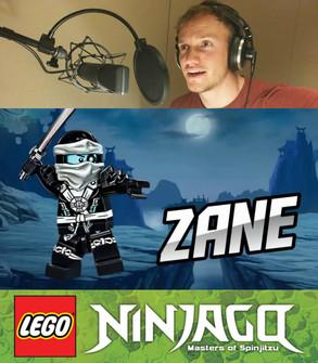 Zane and Karloff in Lego Ninjago