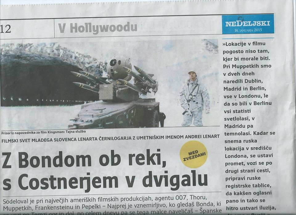 Andrei Lenart Nedeljski Dnevnik
