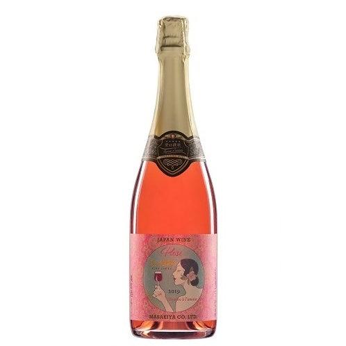 スパークリングワイン 愛の讃歌 ロゼ  720ml  【ギフトボックス入り】