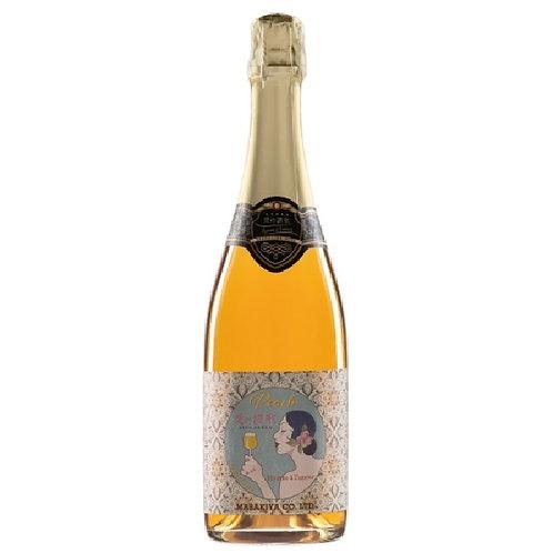 スパークリングワイン 愛の讃歌 ピーチ  720ml  【ギフトボックス入り】