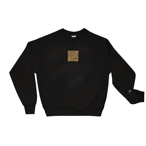 Embroidered Modern Artifact Champion Sweatshirt