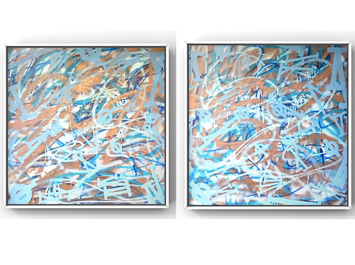 Untitled Diptych I & II