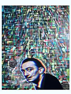 """Timeless"" Ft.Dalí 24x30in"