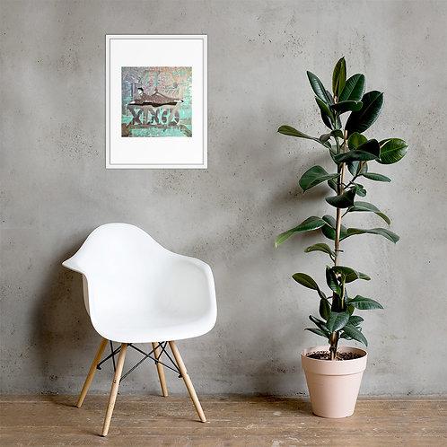 Relaxed (ft. Audrey Hepburn) Framed Poster Print