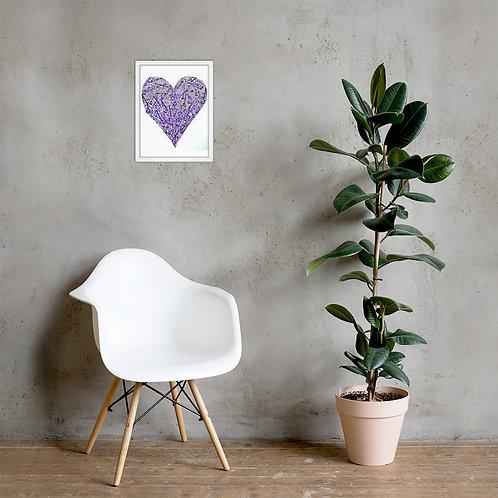 Heart Strings Framed Poster Print