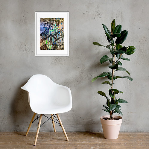 Up, Close & Personal Framed Poster Print