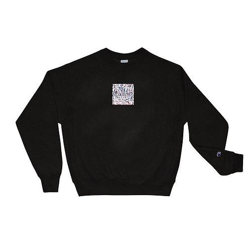 Embroidered Modern Artifact Champion Sweatshirt