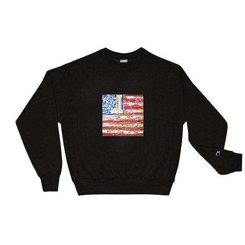 American Flag Champion Sweatshirt