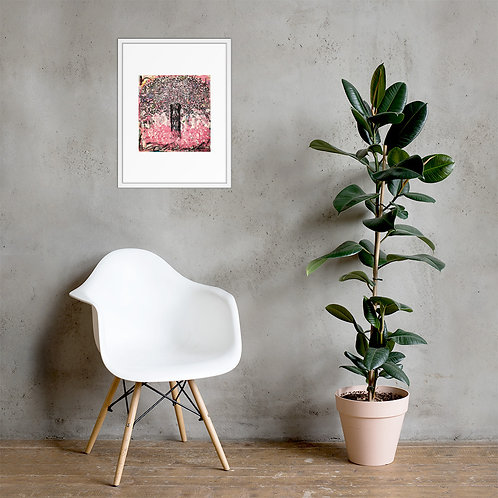Quick Trip to the Rosé Tree Framed Poster Print
