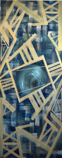 """""""Synergy"""" 16x40in"""