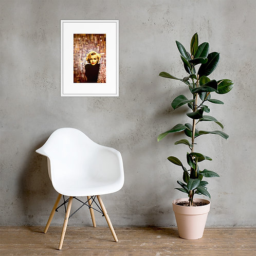 Complexity (ft. Marilyn Monroe) Framed Poster Print