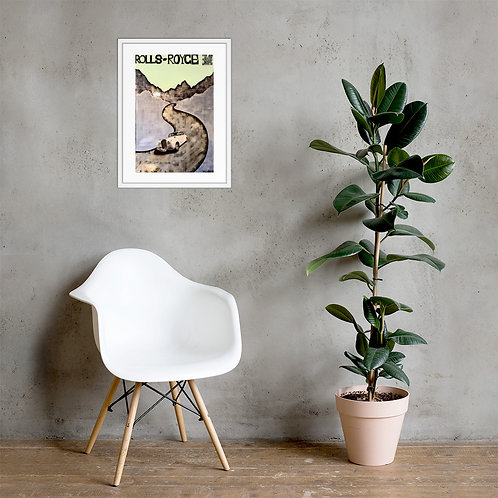 Sugar Wraith Framed Poster Print
