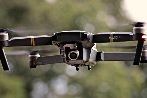 Servicio de Dron (Hasta 2 horas)