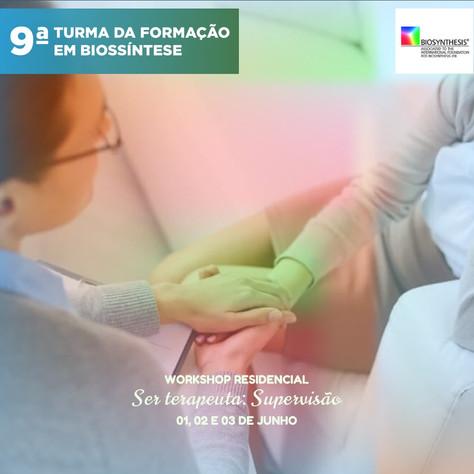 9a. Turma da Formação em Biossíntese - Workshop Residencial - 01, 02 e 03 de junho
