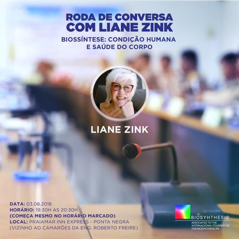 RODA DE CONVERSA com Liane Zink