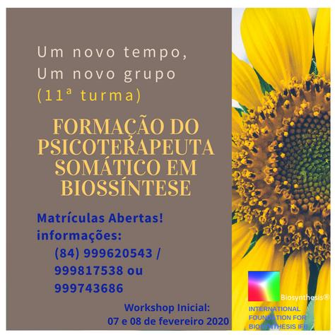 FORMAÇÃO EM BIOSSÍNTESE - Natal/RN