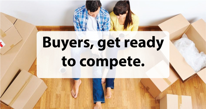 Buyers, get ready to compete.