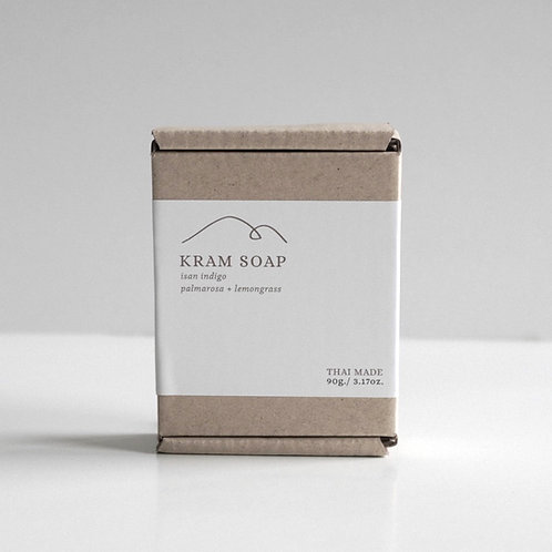 Kram (Thai Indigo) Soap
