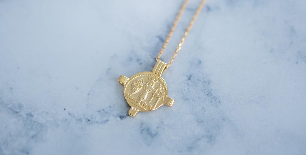 Aztec Necklace Gold