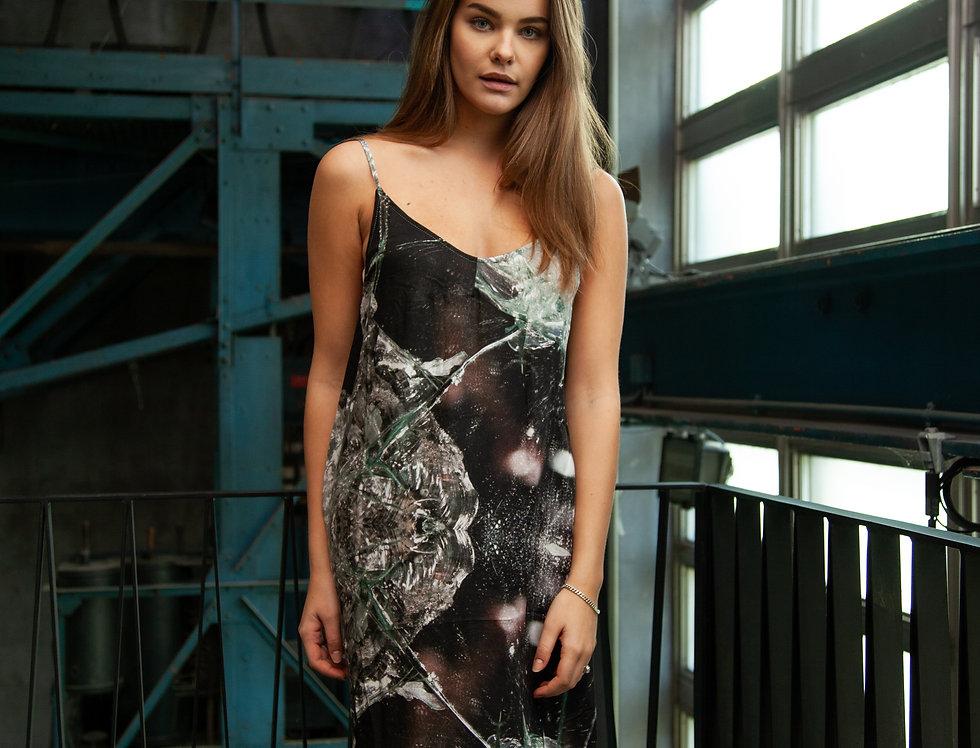 Dark Print Dress