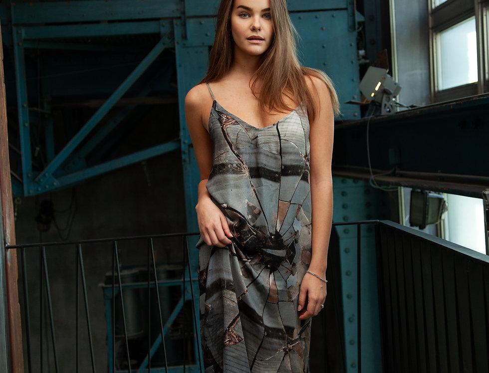 Smoke Print Dress