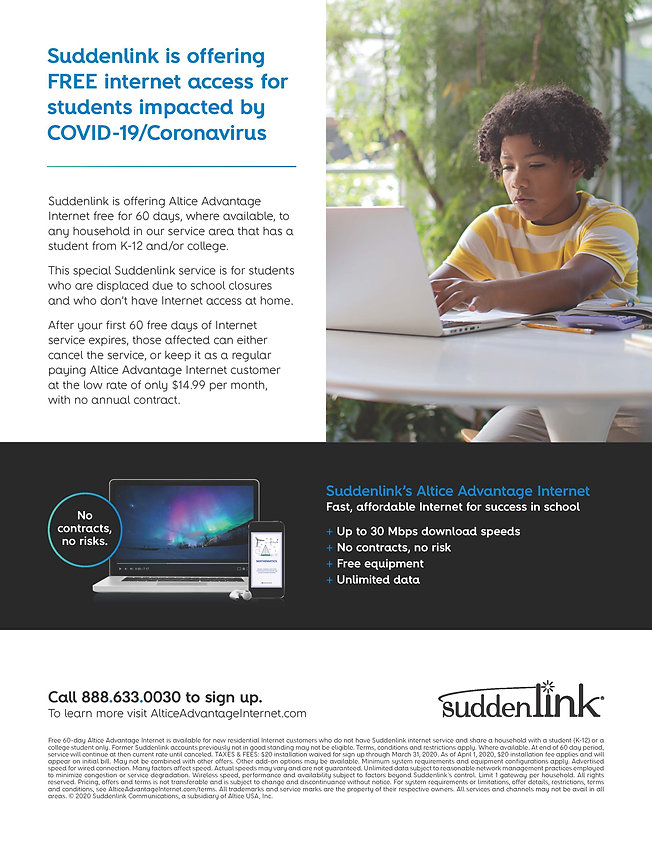 Free 60 Day Internet Access for Students