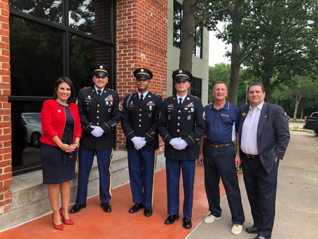 Celebrating Flag Day at Geico Regional Headquarters
