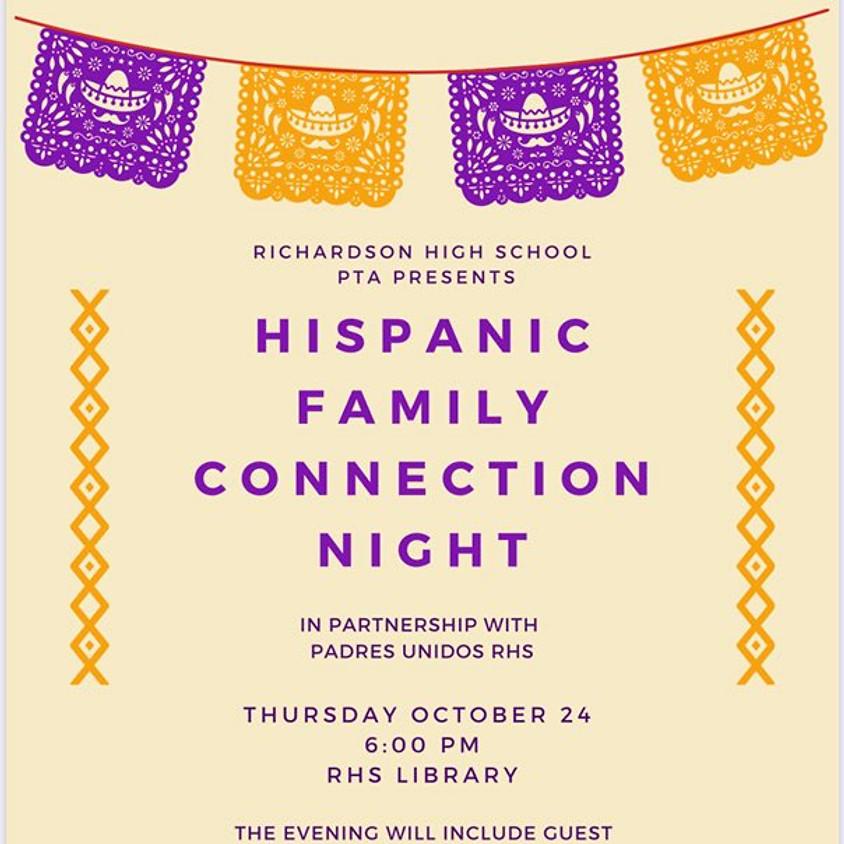 RHS Hispanic Family Connection Night