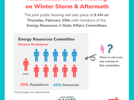 Information on Hearing between the Energy Resources & State Affairs Committees