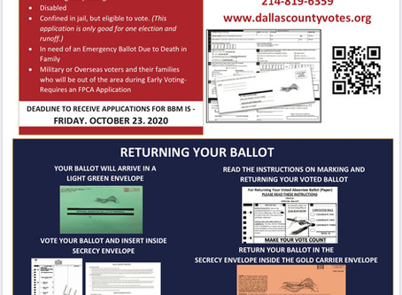 Request a Ballot by Mail