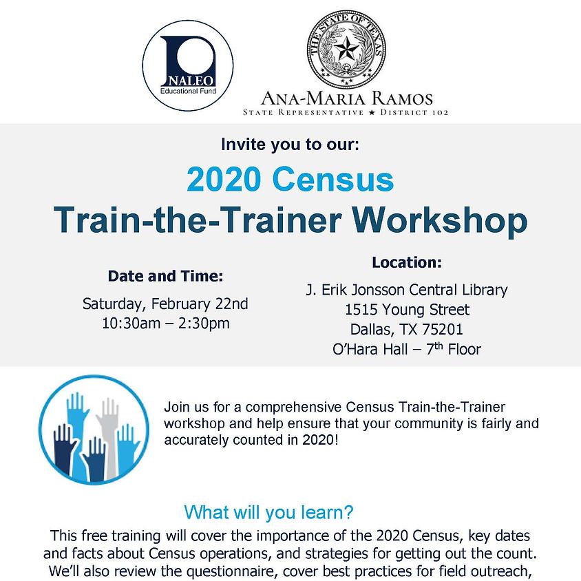Census Train-the-Trainer workshop