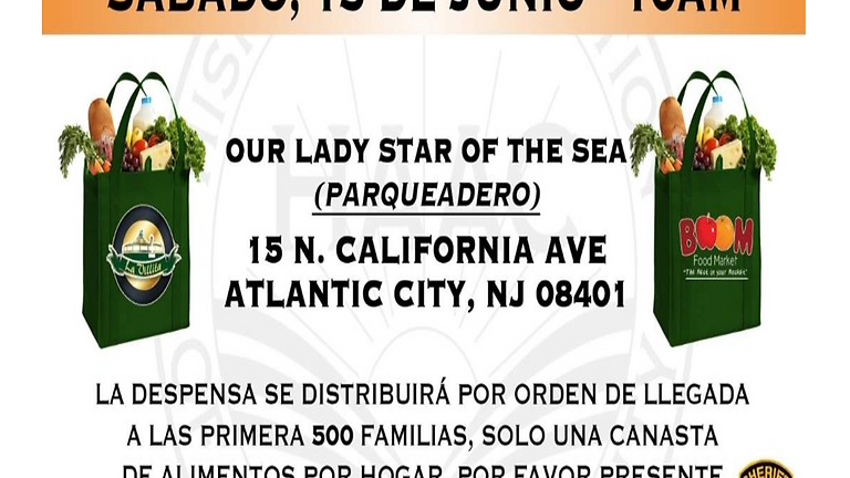Food Distribution-Hispanic Association Of Atlantic County
