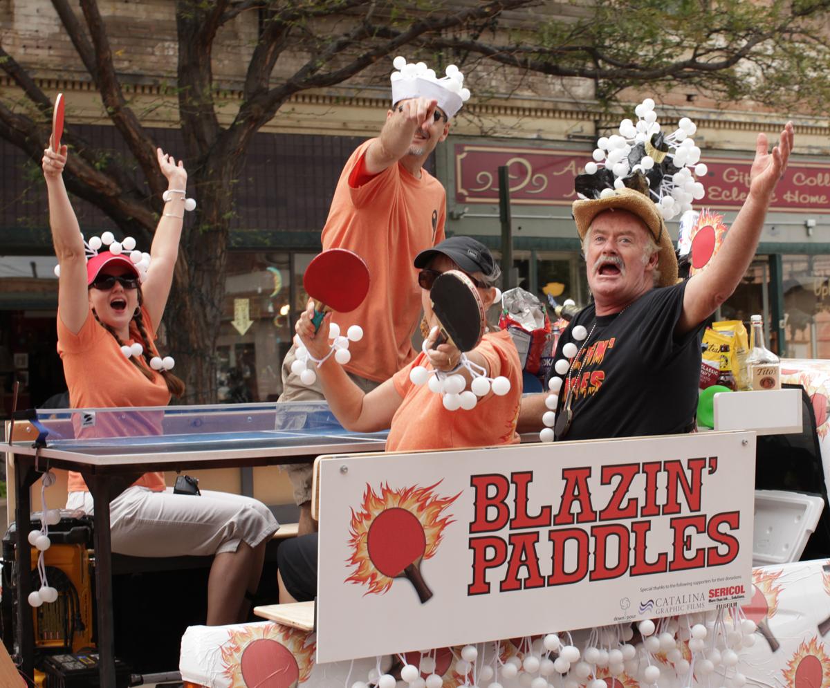 """Blazing Paddles"""