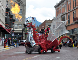 """""""Spike the Big Red Dragon"""""""