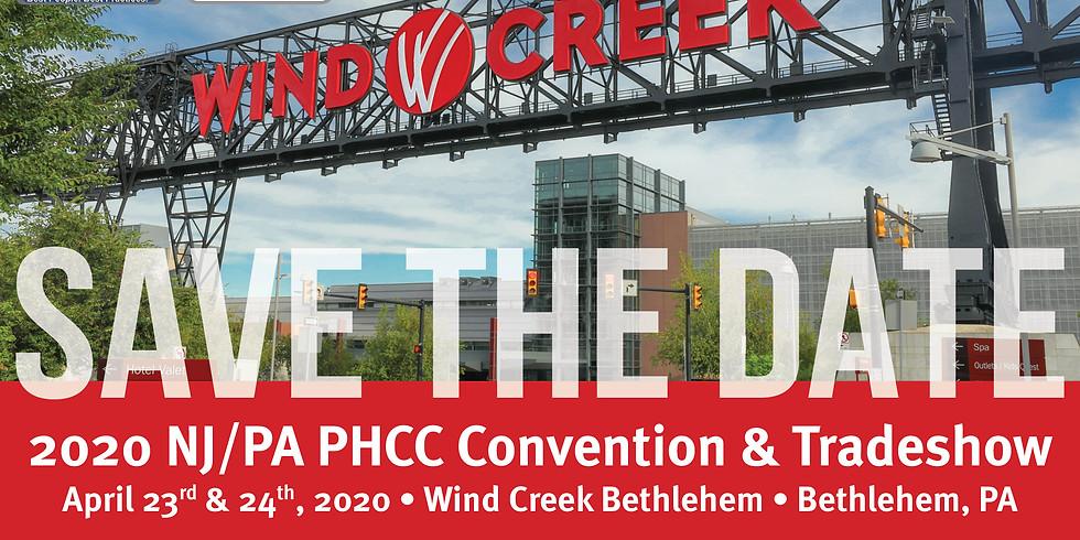 2020 NJ/PA PHCC Convention & Trade Show