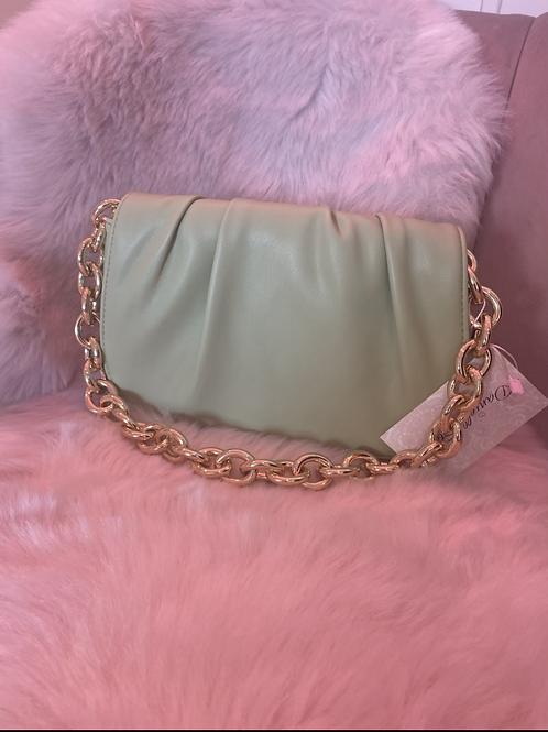 Olive Chain Bag