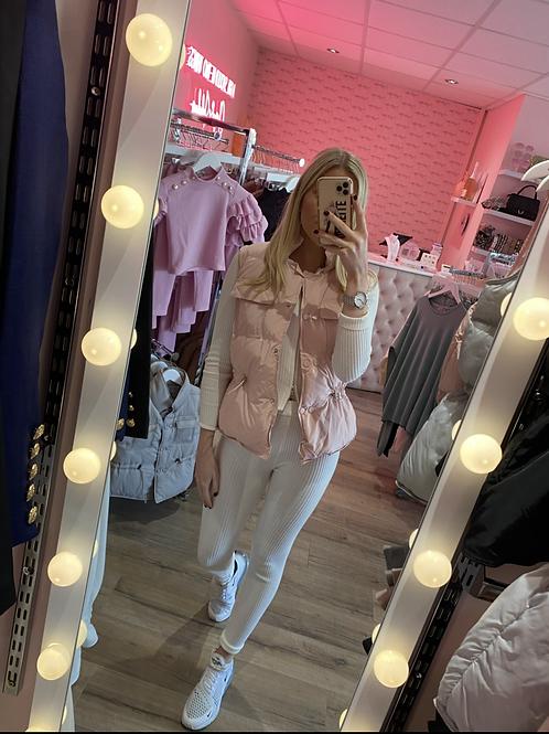 Pink Harriet Gilet