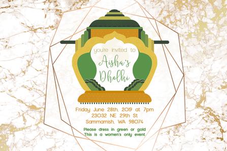 Dholki Facebook Event Banner