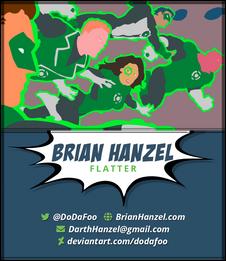 Brian Hanzel - Flatter Business Card