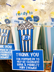 It's a Boy (Ready to Pop) Party Favors