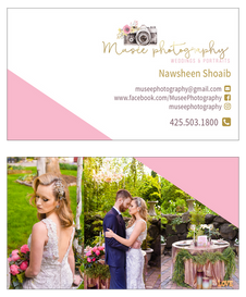 Muse Photography Business Card