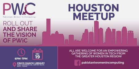 PWiC Houston Meetup EventBrite Banner