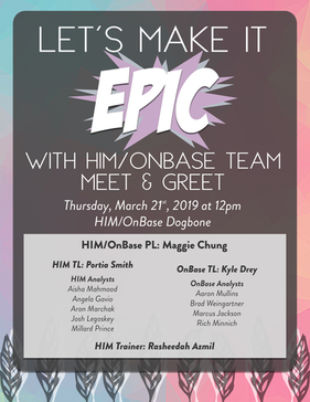 HIM ONBASE Team Meet & Greet